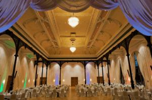 Ballsaal bei Tanzreise nach Dresden
