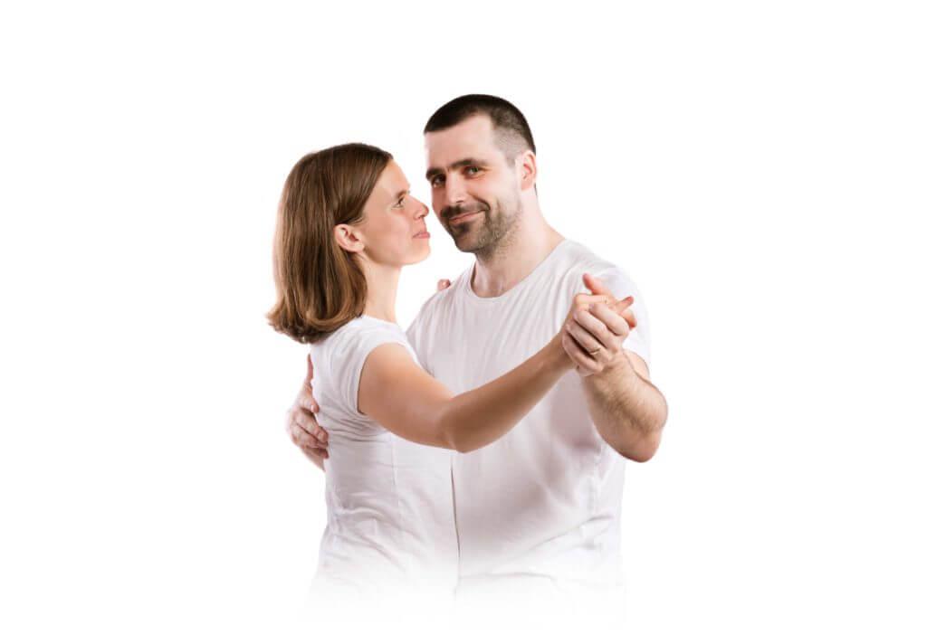 Junges Tanzpaar Gesellschaftstanz